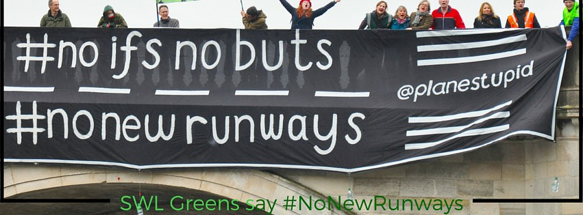 South West London Greens say #NoNewRunway