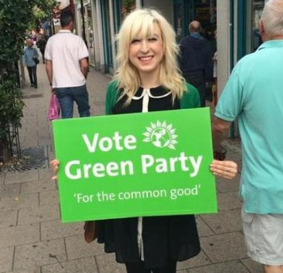 Clare Keogh, Kingston Green Party General Election 2015 candidate