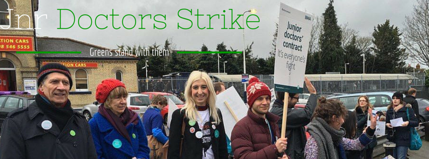 Backwards to the Future? Why we're supporting junior doctors today – and so should you!