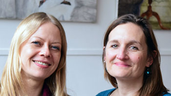 Andree Frieze and Sian Berry